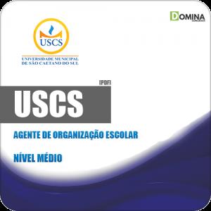 Apostila Concurso USCS 2019 Agente de Organização Escolar