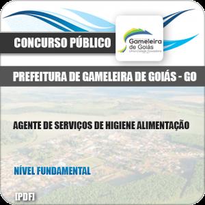 Apostila Pref Gameleira Goiás GO 2019 Agente Higiene Alimentação