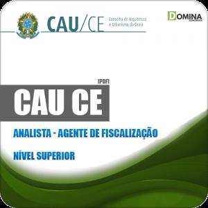 Apostila Seletivo CAU CE 2019 Analista Agente de Fiscalização