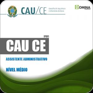Apostila Seletivo CAU CE 2019 Assistente Administrativo