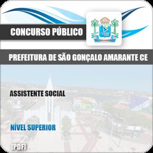 Apostila Concurso São Gonçalo Amarante CE 2019 Assistente Social