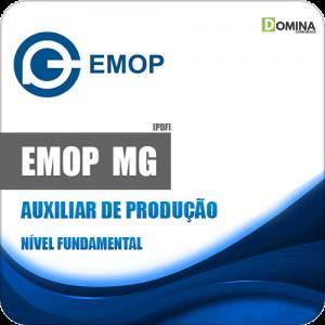 Apostila EMOP Divinópolis MG 2020 Auxiliar de Produção