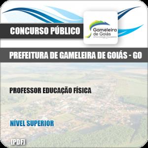 Apostila Pref Gameleira Goiás GO 2019 Professor Educação Física