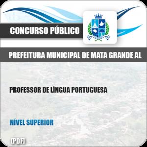 Apostila Pref Mata Grande AL 2019 Professor de Língua Portuguesa