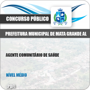 Apostila Pref Mata Grande AL 2019 Agente Comunitário de Saúde