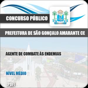 Apostila São Gonçalo Amarante CE 2019 Agente Combate Endemias