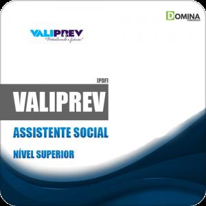 Apostila Concurso Público Valiprev SP 2019 Assistente Social