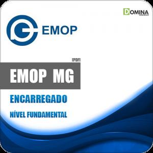 Apostila Concurso EMOP Divinópolis MG 2020 Encarregado