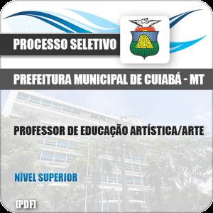 Apostila Seletivo Pref Cuiabá MT 2019 Professor de Educação Arte