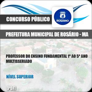 Apostila Pref Rosário MA 2019 Prof 1º ao 5º Ano Multisseriado