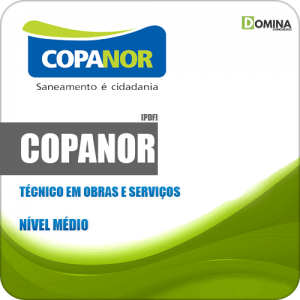 Apostila Concurso COPANOR MG 2020 Técnico Obras e Serviços