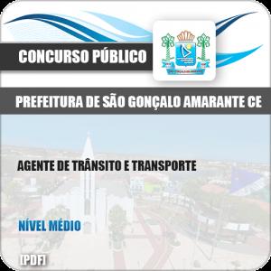 Apostila São Gonçalo Amarante CE 2019 Agente Trânsito Transporte