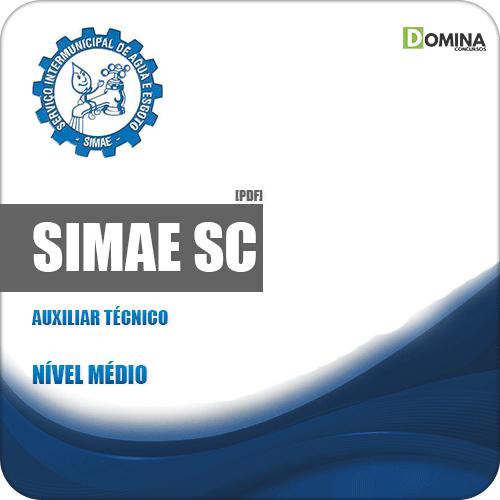 Apostila Concurso Público SIMAE SC 2019 Auxiliar Técnico