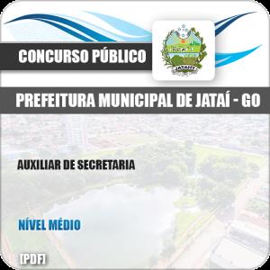 Apostila Concurso Pref Jataí GO 2019 Auxiliar de Secretaria