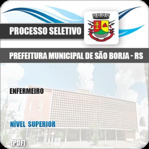 Apostila Seletivo Processo Pref São Borja RS 2019 Enfermeiro