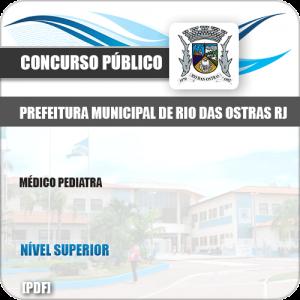 Apostila Concurso Pref Rio das Ostras RJ 2019 Médico Pediatra