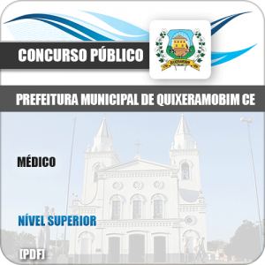 Apostila Concurso Pref Quixeramobim CE 2019 Médico