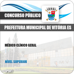 Apostila Concurso Pref Vitória ES 2019 Médico Clínico Geral