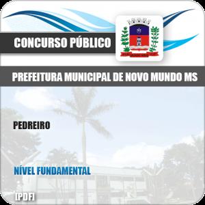 Apostila Concurso Público Pref Novo Mundo MS 2019 Pedreiro