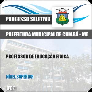 Apostila Seletivo Pref Cuiabá MT 2019 Professor de Educação Física