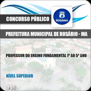 Apostila Pref Rosário MA 2019 Professor Ensino 1º ao 5º Ano