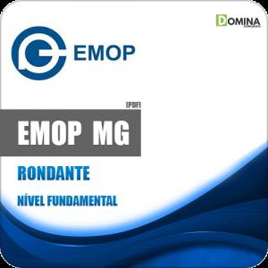 Apostila Concurso EMOP Divinópolis MG 2020 Rondante