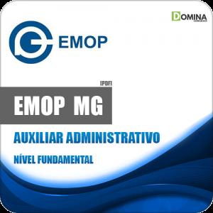 Apostila Concurso EMOP Divinópolis MG 2020 Auxiliar Administrativo