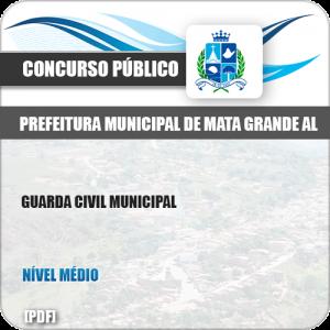 Apostila Pref Mata Grande AL 2019 Guarda Civil Municipal