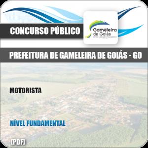 Apostila Concurso Pref Gameleira Goiás GO 2019 Motorista