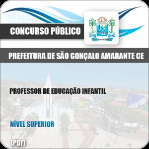 Apostila São Gonçalo Amarante CE 2019 Prof Educação Infantil