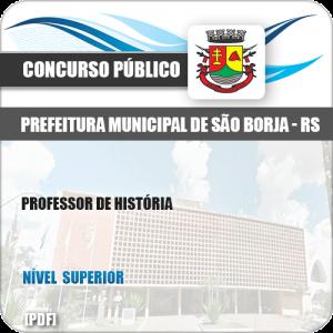 Apostila Concurso Pref São Borja RS 2019 Professor de História