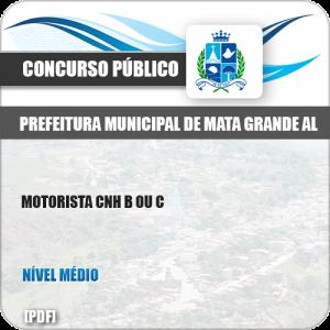 Apostila Concurso Pref Mata Grande AL 2019 Motorista CNH B ou C