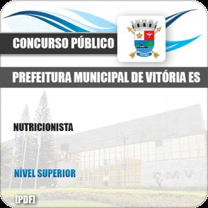 Apostila Concurso Público Pref Vitória ES 2019 Nutricionista