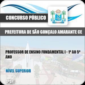 Apostila São Gonçalo Amarante CE 2019 Prof Ensino Fundamental