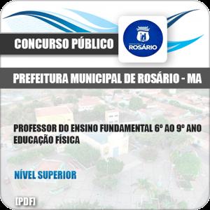 Apostila Pref Rosário MA 2019 Prof 6º ao 9º Ano Educação Física