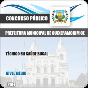 Apostila Pref Quixeramobim CE 2019 Técnico em Saúde Bucal