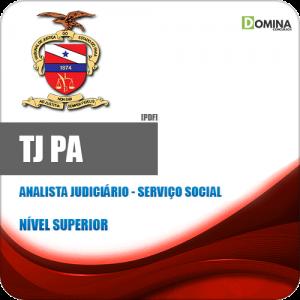 Apostila Concurso TJ PA 2020 Analista Judiciário Serviço Social
