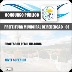 Apostila Pref de Redenção CE 2019 Professor PEB II História