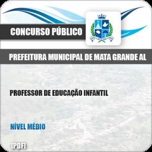 Apostila Pref Mata Grande AL 2019 Professor de Educação Infantil