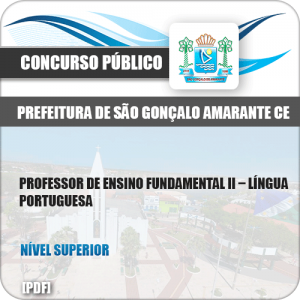 Apostila São Gonçalo Amarante CE 2019 Prof Língua Portuguesa