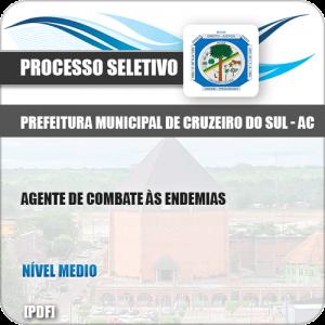 Apostila Pref Cruzeiro do Sul AC 2019 Agente Combate Endemias