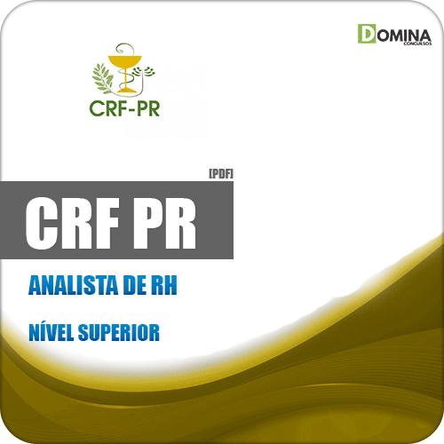 Apostila Concurso Público CRF PR 2019 Analista de RH
