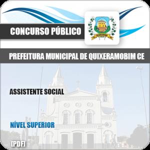 Apostila Pref Quixeramobim CE 2019 Assistente Social