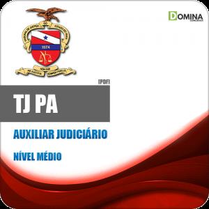 Apostila Concurso Público TJ PA 2020 Auxiliar Judiciário