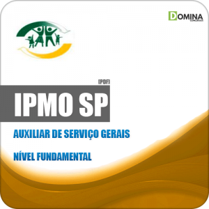Apostila IPMO Ourinhos SP 2019 Auxiliar de Serviço Gerais