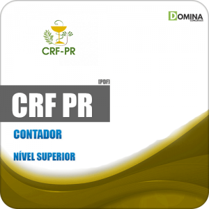 Apostila Concurso Público CRF PR 2019 Contador
