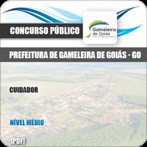 Apostila Concurso Pref Gameleira Goiás GO 2019 Cuidador