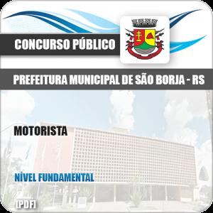 Apostila Concurso Público Pref São Borja RS 2019 Motorista