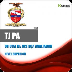 Apostila Concurso TJ PA 2020 Oficial de Justiça Avaliador