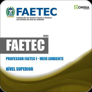Apostila Concurso FAETEC RJ 2019 Prof FAETEC I Meio Ambiente